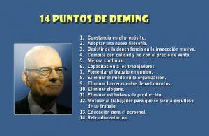 14 puntos de Deming